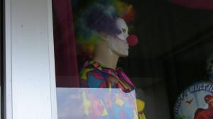 Meta theater in Philadelphia or at least a creepy clown