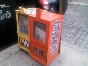 Philadelphia City Paper box