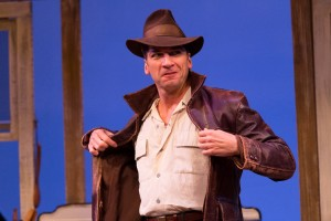Michael Sharon plays the titular role in THE RAINMAKER at People's Light (Photo credit: Mark Garvin)