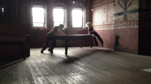 Leah Stein Dance Company ADJACENT SPACES Fringe review