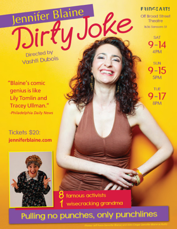Jennifer Blaine Dirty Joke Fringe review