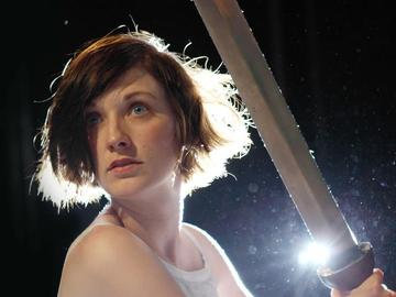 Saint Joan, Betrayed, Mary Tuomanen, 2013 Philly Fringe review