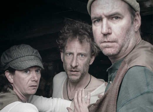 Keith Conallen, David Blatt, and Brian McCann in PAC's THE SEA PLAYS, part of the 2013 Philly Fringe.