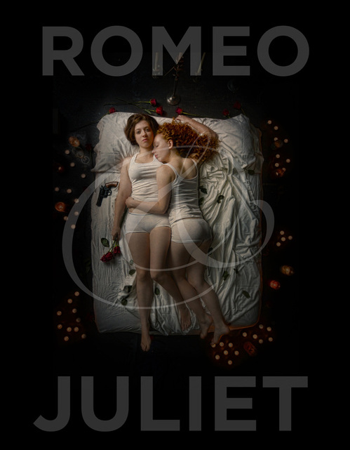 Curio Theater Company's ROMEO AND JULIET stars Rachel Gluck and Isa St. Clair (Photo credit: Kyle Cassidy)