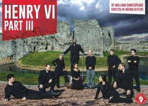 Revolution Shakespeare presents Henry VI Part III as its inaugural production. Photo/Graphics by Daniel Kontz.