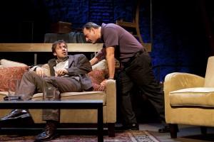Dan Hodge and Joe Guzmán star in Passage Theatre' TRUE STORY (Photo credit: Mathias Goldstein)