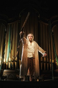 Brian McCann as Prospero. Photo by Kyle Cassidy.