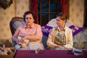 L-R Drucie McDaniel and Maureen Torsney-Weir. Photo by Johanna Austin.