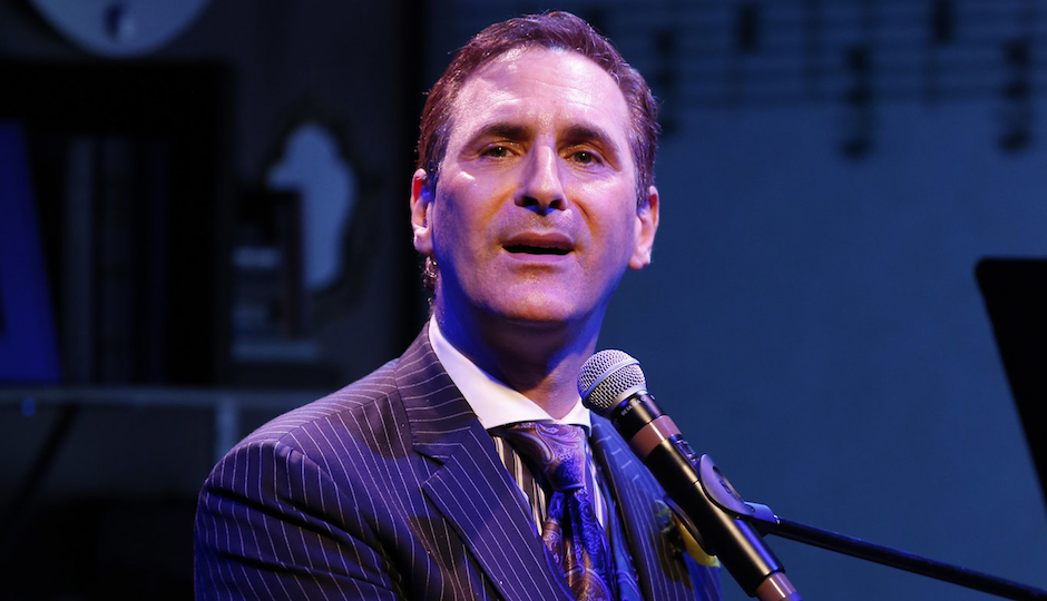 Mark Nadler in I'm a Stranger Here Myself (photo courtesy of The Prince Music Theater)
