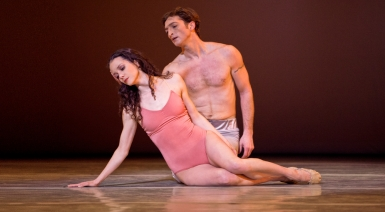 Pennsylvania Ballet Principal Dancers Julie Diana and Zachary Hench in After the Rain | Photo: Alexander Iziliaev
