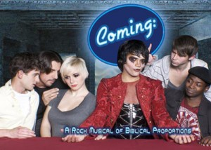 Promotional image for Erik Ransom's COMING (Photo credit: Ronnie Bullets)