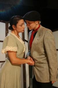 K. O. DelMarcelle and Gina Martino in THE TOUGHEST BOY IN PHILADELPHIA.