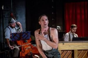 Joshua Neale, Ben Dibble, Dan Kazemi Photo credit: Flashpoint Theatre Company
