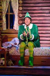 Christopher Sutton in ELF at the Walnut. Photo credit: Mark Garvin.