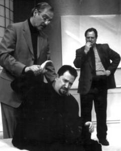 Producing artistic director Bernard Havard directed  Yasmina Reza's play ART in 2002. The production starred (from left) Carl Shurr, Ben Lipitz, and Robert Ari.