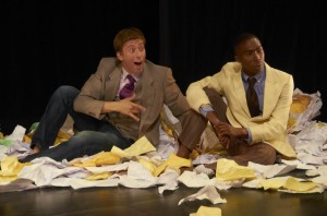 Josh Kachnycz and Terrell Green in LOVE'S LABOUR'S LOST. Photo credit: John Bansemer.