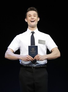 Mark Evans THE BOOK OF MORMON First National Tour © Joan Marcus, 2013