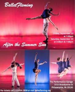 Ballet Fleming, AFTER THE SUMMER SUN poster