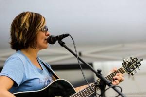Christine Havrilla on guitar (Photo credit: Gary Regulski)