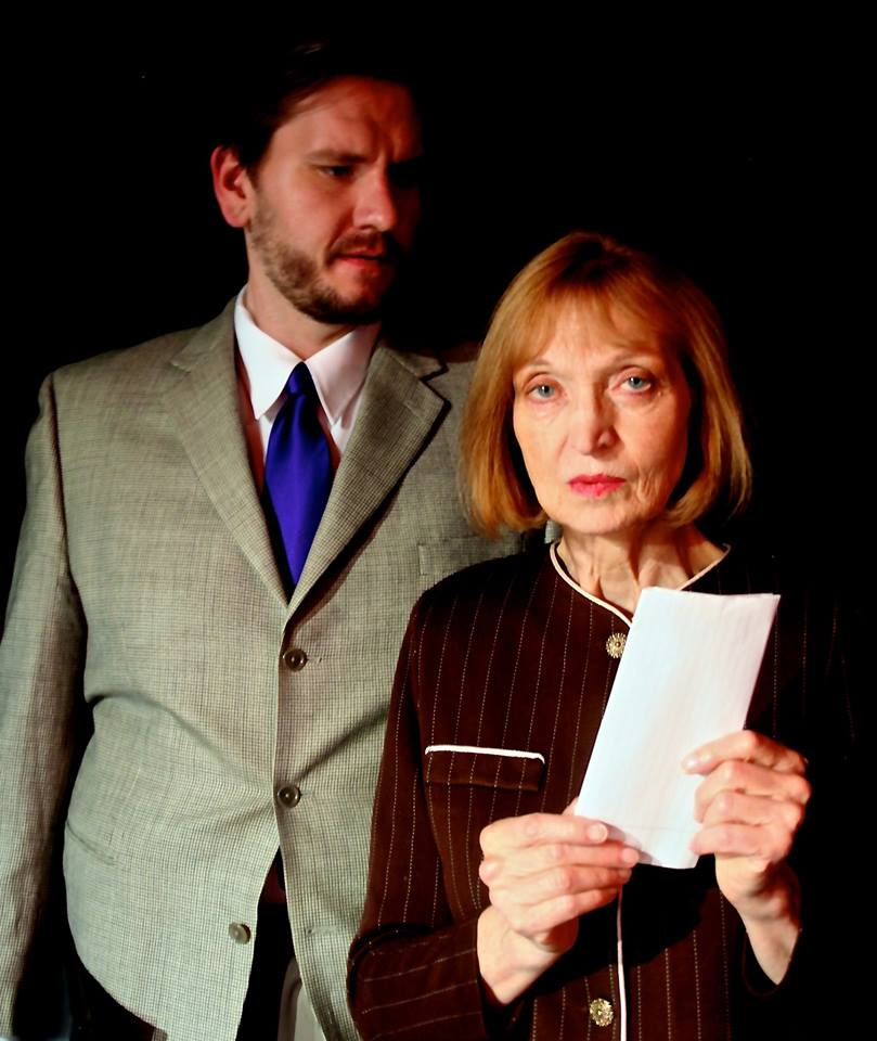 The Letter of Last Resort by David Greig. Directed by Claire Moyer, with Adam Rzepka and Susan Giddings. October 2nd, 3rd, 5th 2014.