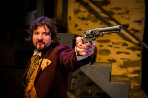 Robert Daponte as Laertes. Photo by Kyle Cassidy.