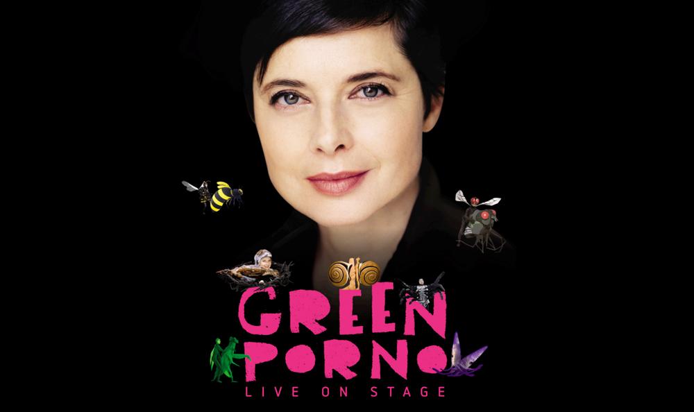 1. Isabella Rosselini, GREEN PORNO live poster