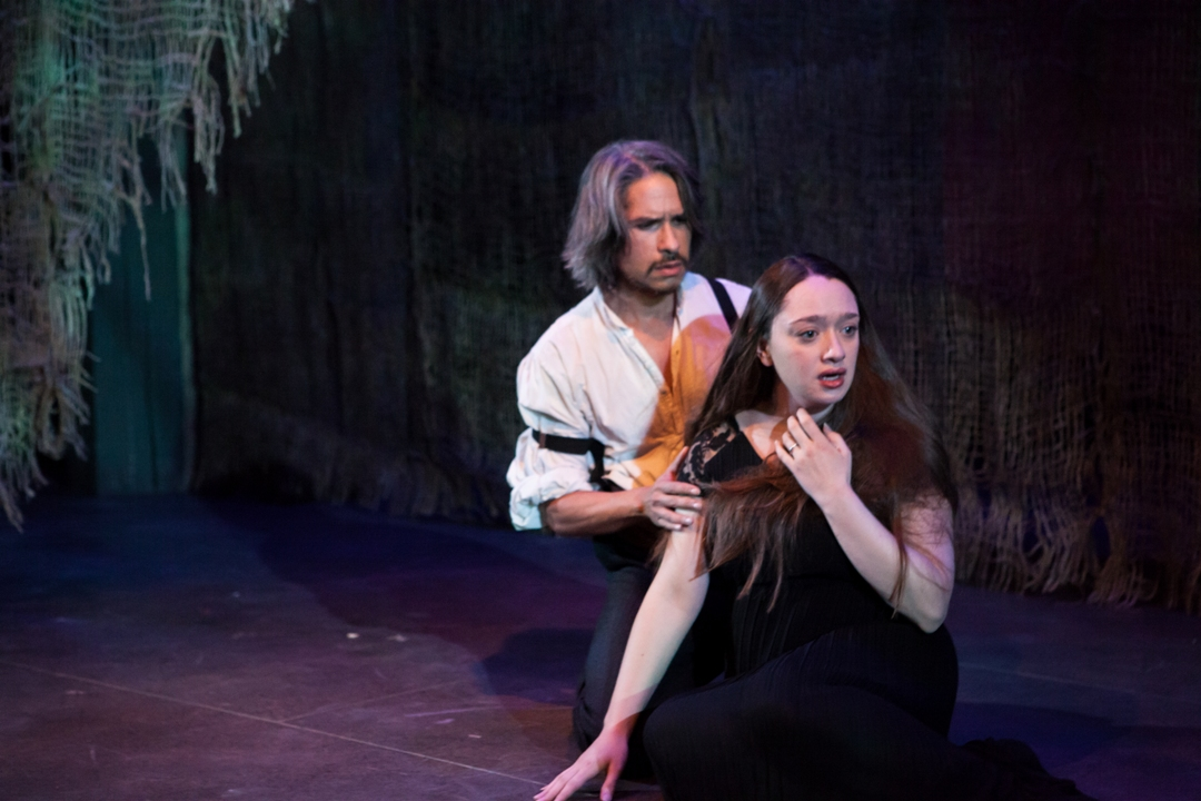 Victoria Rose Bonito and J Hernandez star in BLOOD WEDDING (Photo credit: Kate Raines/PLATE 3 Photography)