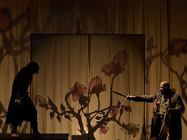 Matteo Scammell and Brian Anthony Wilson in BEAUTY AND THE BEAST at the Arden (Photo credit: Mark Garvin)
