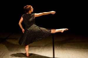 Photo by Frank Bicking with Dancer, Andrea Romesser of The Koresh Dance School.