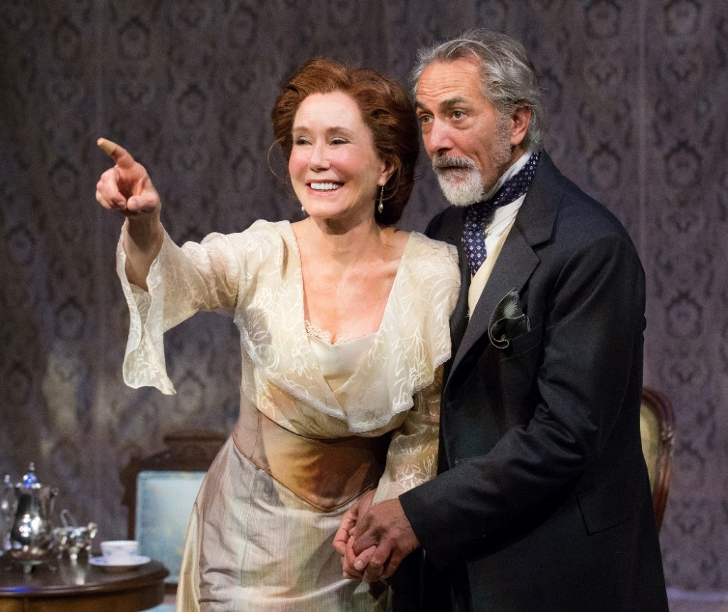 Mary McDonnell and David Strathairn in THE CHERRY ORCHARD at People's Light (Photo credit: Mark Garvin)