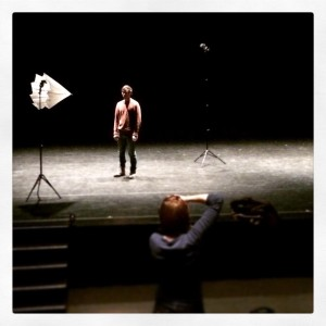 Photo shoot for Moon Cave with AustinArt. Photo copyright: Azuka Theatre
