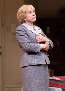 Emmy Award-winning Actress Michael Learned in MOTHERS AND SONS. Photo by Mark Garvin.