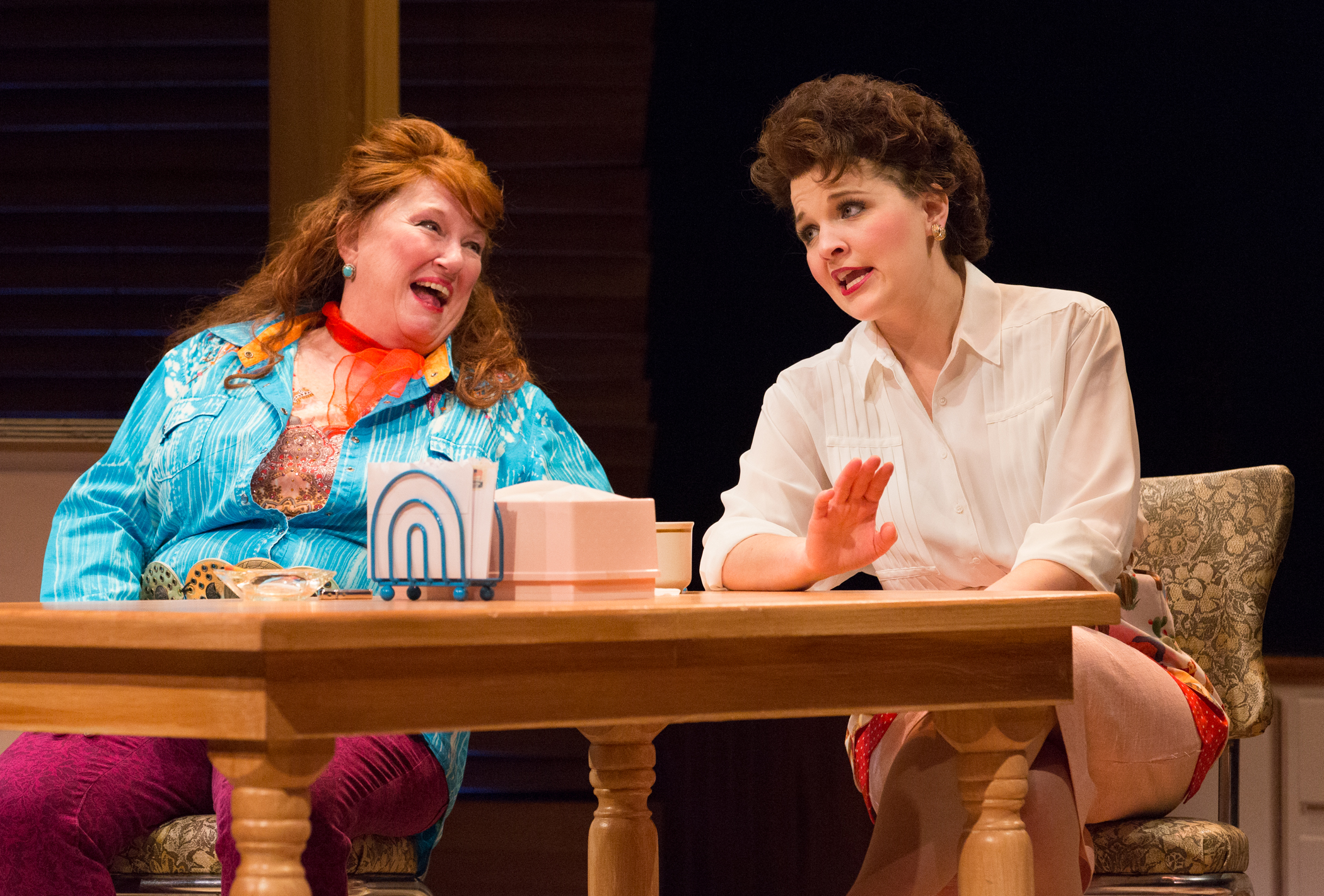 PHOTOS COURTESY OF MARK GAVIN / (Left to right) Jo Twiss and Jessica Wagner star as Louise and Patsy Cline in Always… Patsy Cline at the Bristol Riverside .