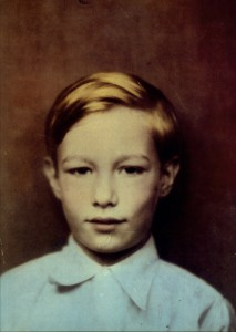 The young Andrew Warhola, 1933 (Photo credit: Courtesy of the Warhola Family)