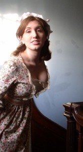 Loretta Vasile as Kate Hardcastle in a pre-production photo for The Mechanical Theater's SHE STOOPS TO CONQUER (Photo credit: Jacquelin Brough)