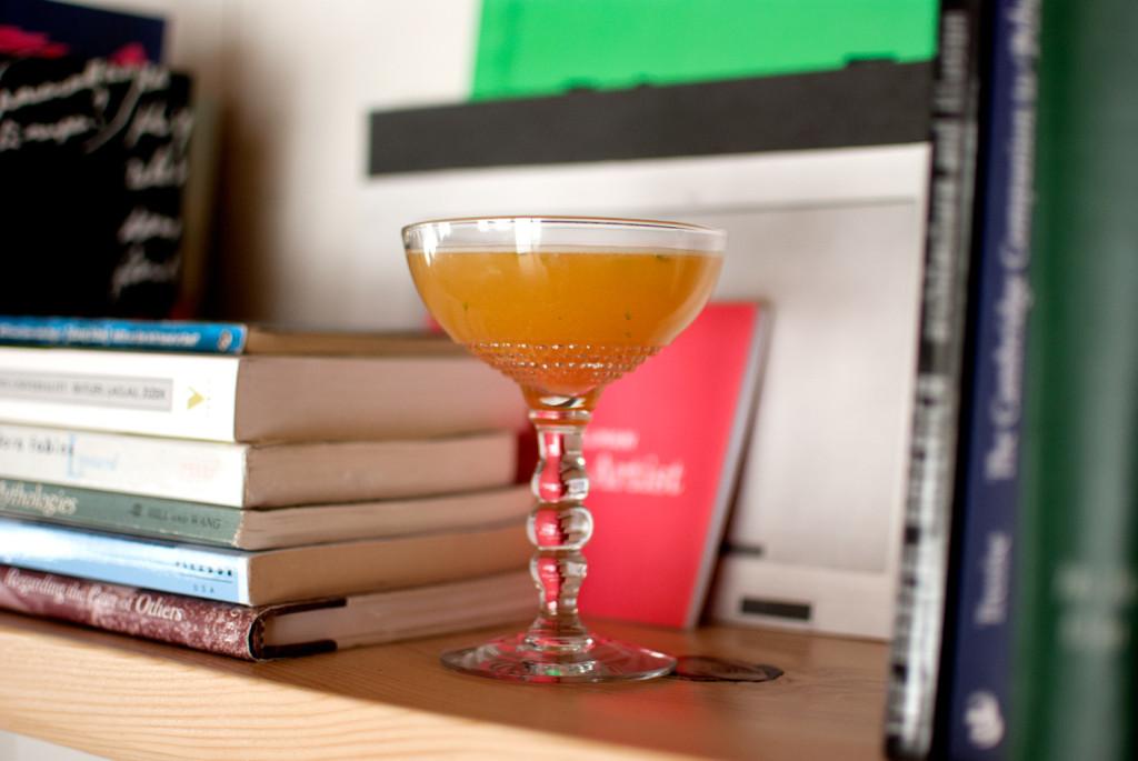 books-cocktails