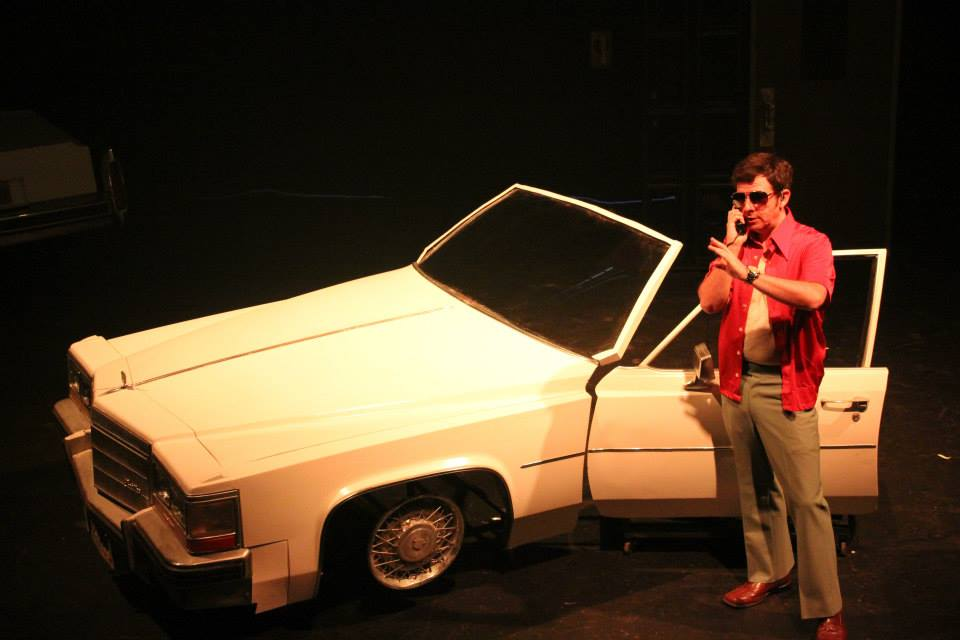 Thaddeus Phillips as Barry Seal. Photo by Hallie Martenson.