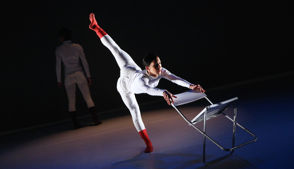 Kun Yang Lin Dancers. Photo by Bill Hebert.