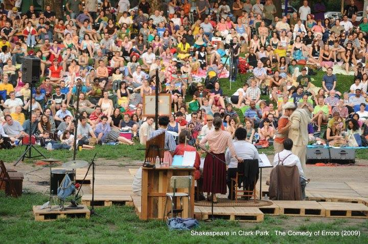 The audience at The Comedy of Errors, 2009. Photo by Kyle Cassidy.