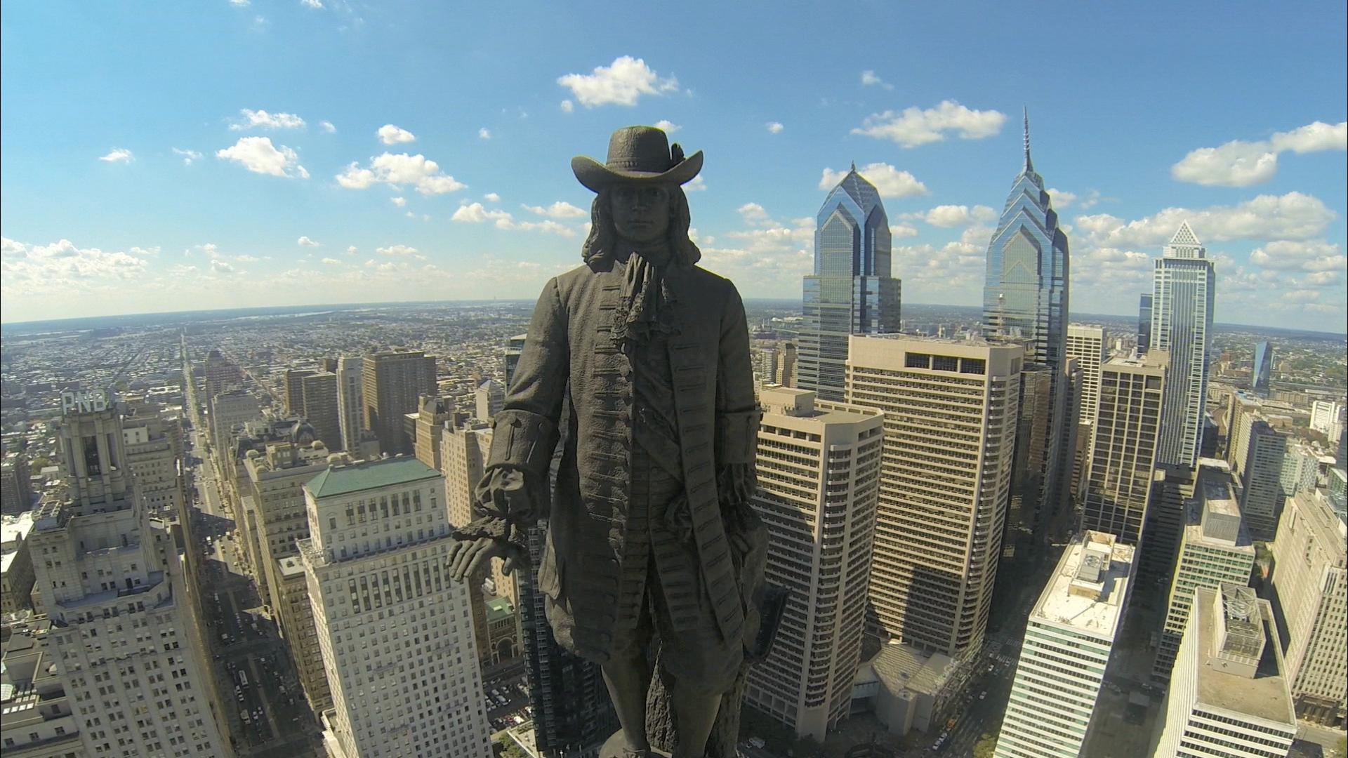 william penn statue