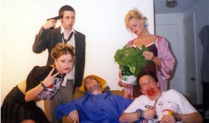 Promotional image for Wake Up Paddington You Worthless Shit from the 2000 Fringe Festival. This is the first Fringe show your faithful editor Christopher Munden remembers attending.