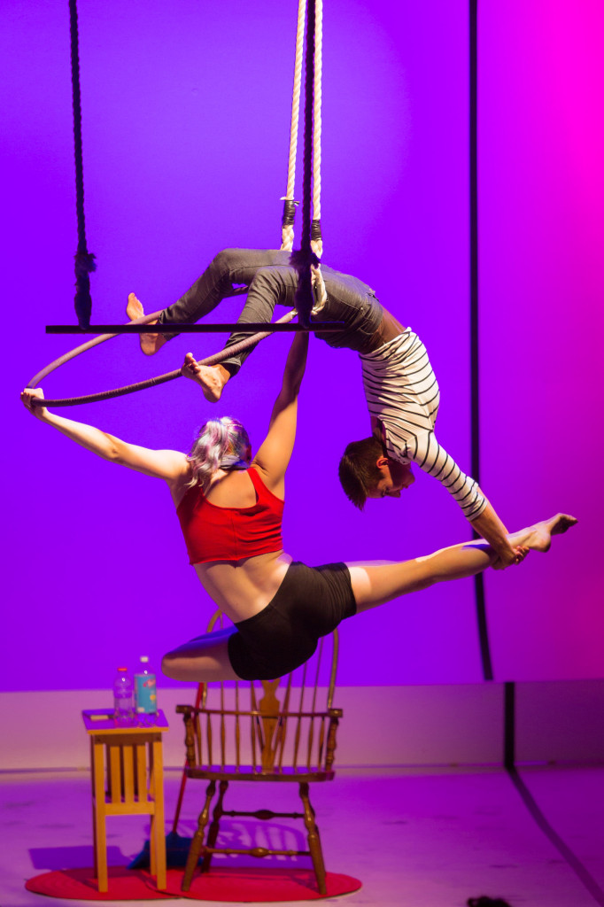 """In """"Find a Partner"""" the performers are Lee Thompson and Sal Nicolazzo (L-R). Photo by Michael Ermilio."""