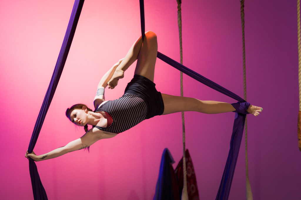 """Maura Kirk.performing in """"Make Time for Yourself"""". Photo by Michael Ermilio."""