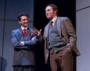 Trevor William Fayle and Harry Smith in Lantern Theater Company's PHOTOGRAPH 51 (Photo credit: Mark Garvin)
