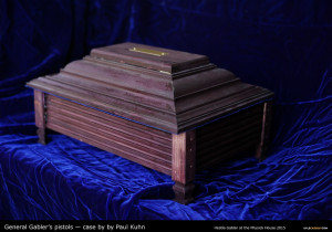 Paul Kuhn's prop for HEDDA GABLER. Photo by Kyle Cassidy.