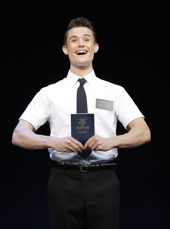 Mark Evans THE BOOK OF MORMON First National Tour (c) Joan Marcus, 2013