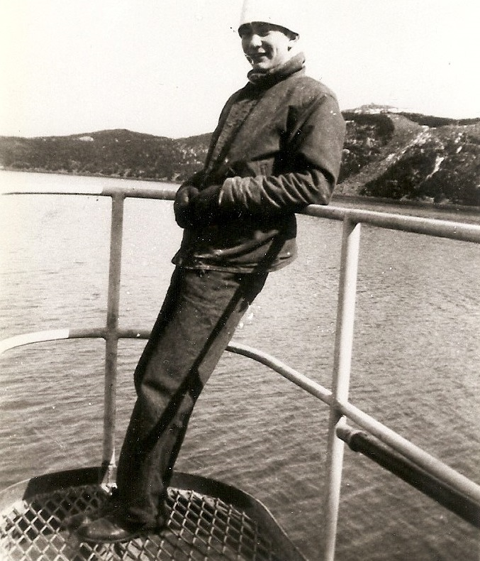 Walt Vail on the famous Ingham, 1946