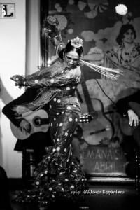 Flamenco dancer Almudena Serrano