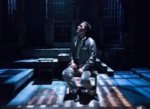 Marc LeVasseur as Oscar Wilde. Photo by Mark Garvin.
