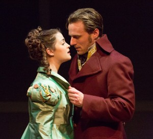 SENSE AND SENSIBILITY at People's Light features Claire Inie-Richards and Sam Ashdown (Photo credit: Mark Garvin)